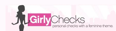 Girly Checks Personal Checks Logo